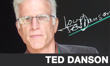 Ted Danson has Lunch.
