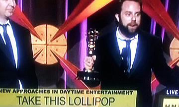 An Emmy For Take This Lollipop