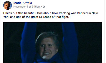 Mark Ruffalo knows what he's talking about.